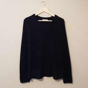 Banana Republic Black Knit Sweater Medium